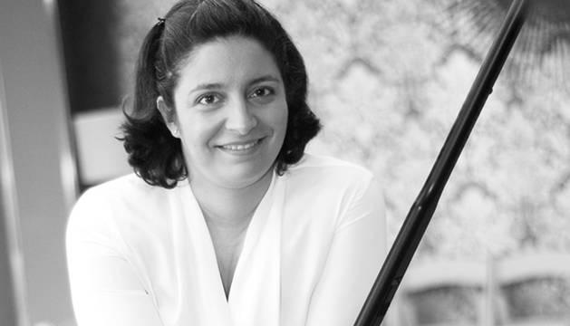 La pianista Carmen Yepes.