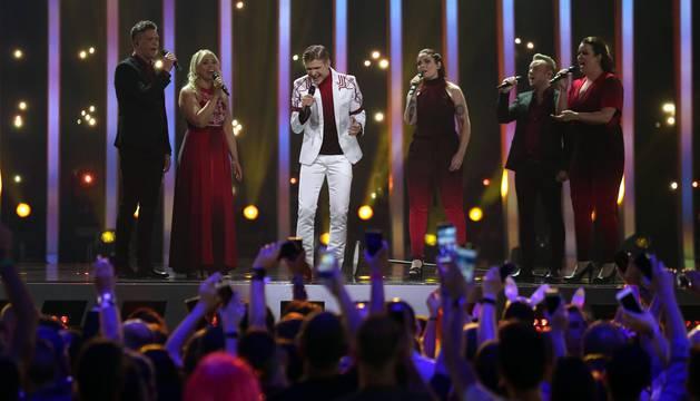 Primera semifinal de Eurovisión 2018