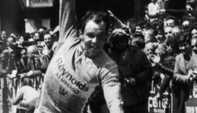 LA PRIMERA. Arnaud gana la 16ª etapa de la Vuelta a España 1980.