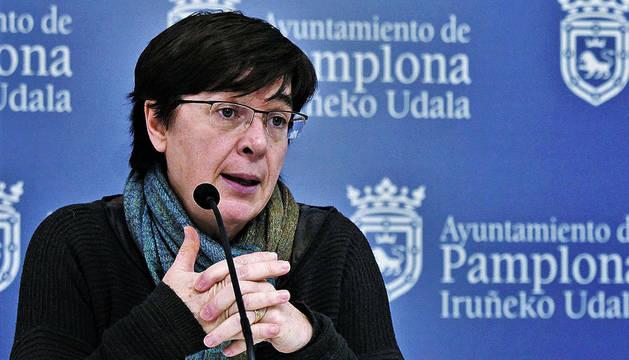 foto de Edurne Eguino, reprobada por el comité, y de quien partió la filtración.