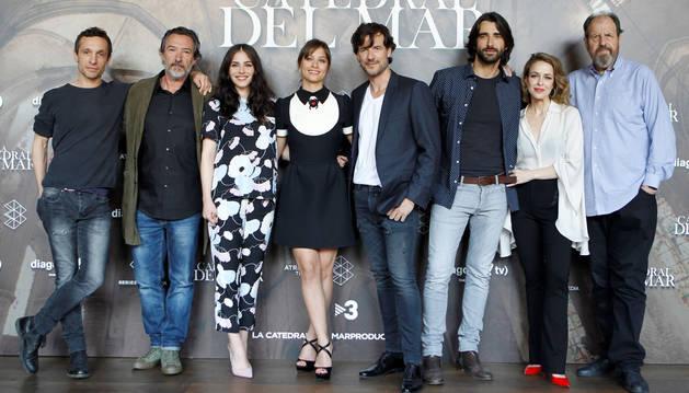 'La catedral del mar' se viste de largo ante su inminente estreno en Antena 3