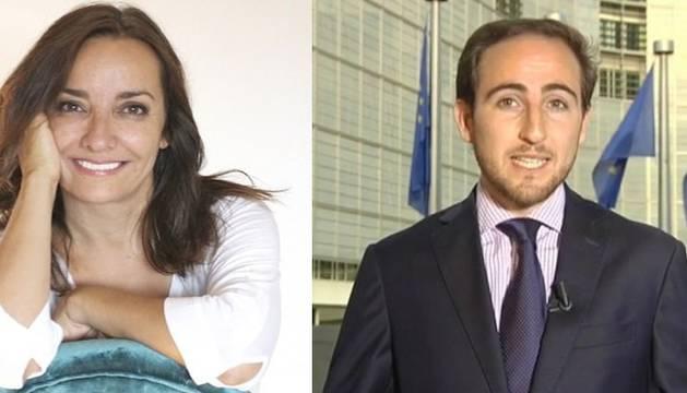De izq. a dcha., Pepa Bueno, Guillermo Pascual y Beatriz Navarro.