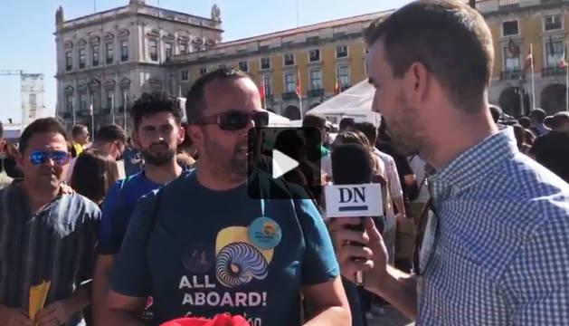 Directo | Amaia y Alfred se reúnen con los fans en Lisboa dos días antes de Eurovisión