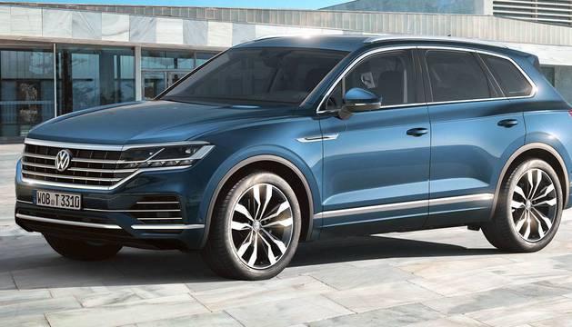 Modelo Touareg de Volkswagen