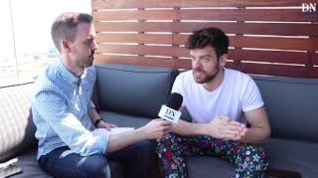 Diario de Navarra entrevista a Ricky en Eurovisión