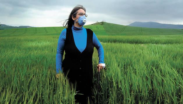 Rosi Álvarez Urrutia, de 44 años, está diagnosticada de Sensibilidad Química Múltiple