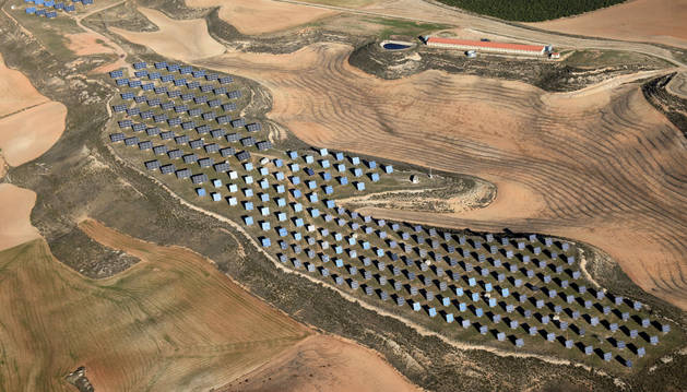 foto de Primer parque construido por Ríos Renovables en Cabanillas en 2004 y actualmente en operación y mantenimiento, con una potencia 1,4 MW.
