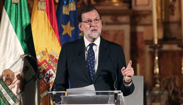 Rajoy, en Cádiz.
