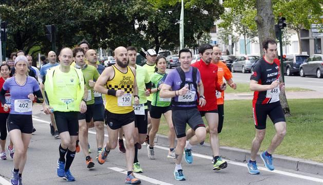Fotos de la media Maratón Ciudad de Pamplona