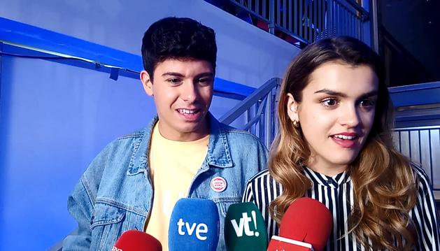 Amaia y Alfred valoran su puesto en Eurovisión