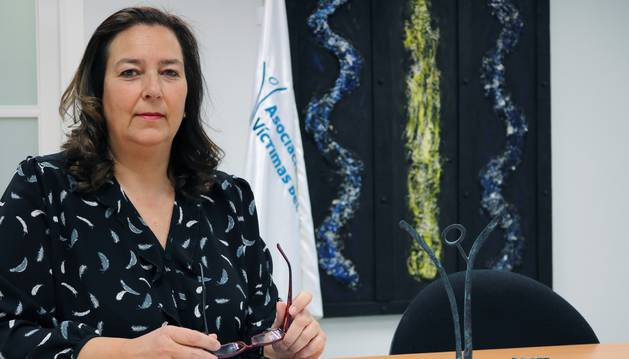 Maite Araluce, nueva presidenta de la AVT.