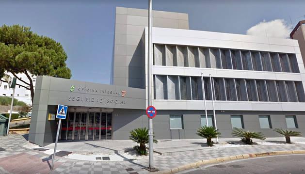 Comandancia de la Guardia Civil en Algeciras.