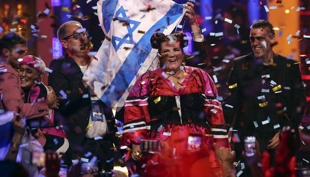 NettaBarzilai vuelve al escenario del Altice Arena con su 'Toy'para poner el broche final de la gala.