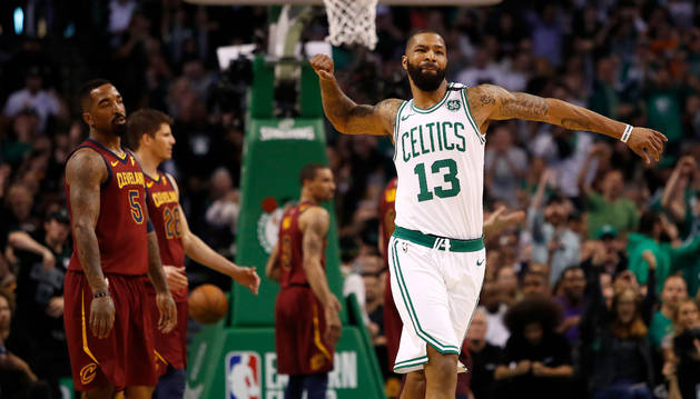 Los Celtics arrollan a los Cavaliers en la 1ª Final de la Conferencia Este