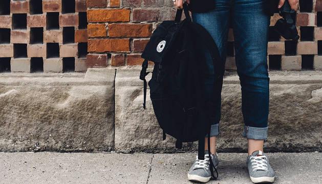 Detenido tras ser visto con una mochila robada de una terraza en Tudela