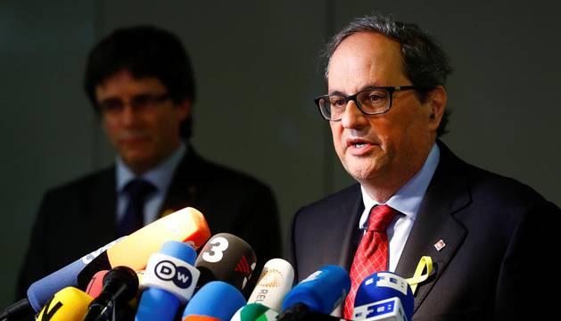 Torra pedirá por carta una reunión a Rajoy para exigirle que levante el 155