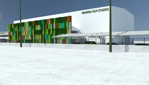Simulación del edificio.
