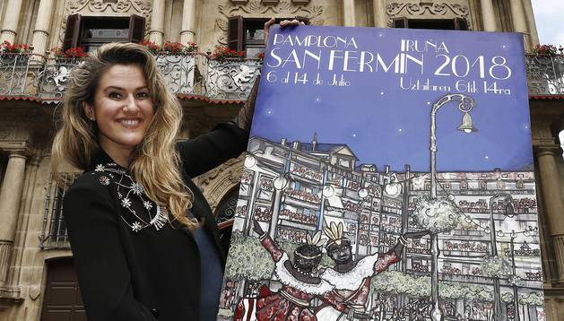 'Pamplona, ciudad de luces' anunciará las fiestas de San Fermín 2018