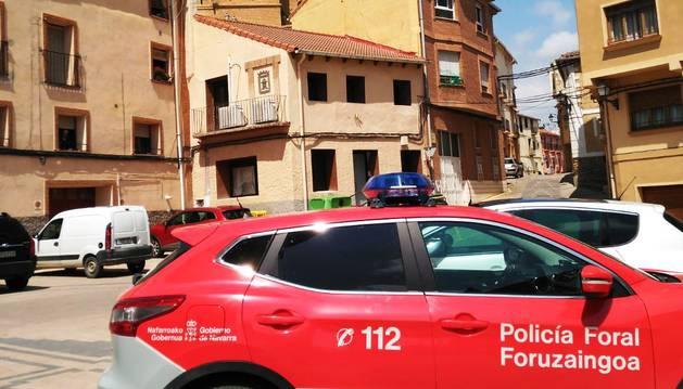 Patrulla movilizada en Funes