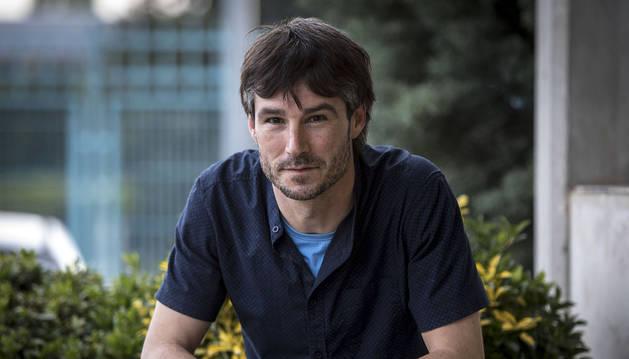 El periodista de Diario de Navarra Gabriel González.