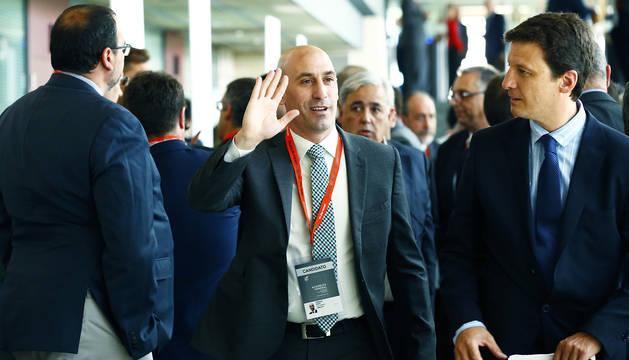 Luis Rubiales nuevo presidente de la Federación Española de Fútbol