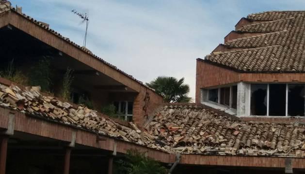 Estado en el que se encuentra el convento de las Agustinas de San Pedro