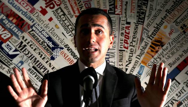 El líder del Movimiento 5 Estrellas, Luigi Di Maio.