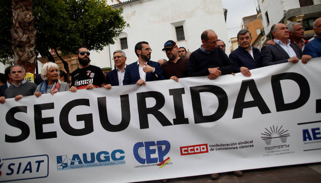 A prisión los ochos acusados por la agresión a guardias civiles en Algeciras