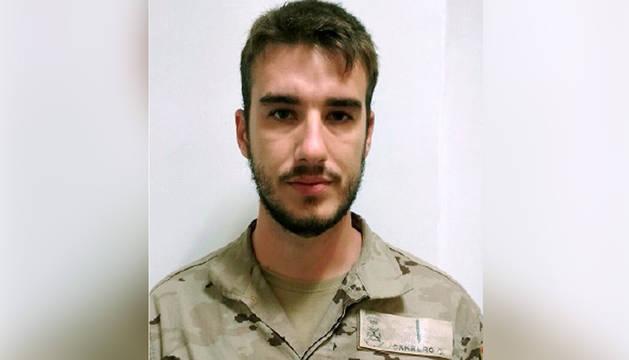 El soldado fallecido en Mali Antonio Carrero Jiménez.
