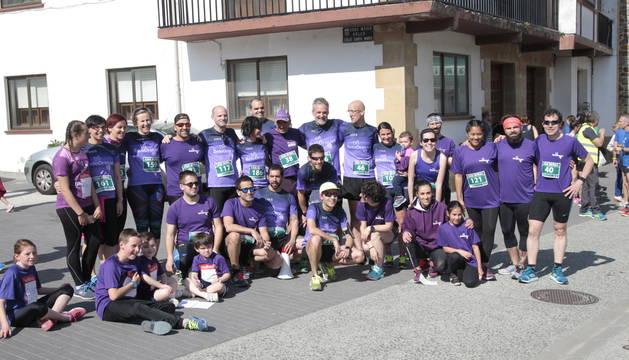 Participantes en la carrera.