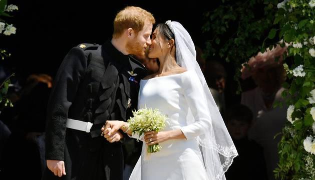 Imágenes de la boda real de Enrique y Meghan