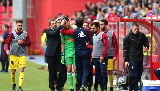 Preocupa la rodilla de Sergio Herrera