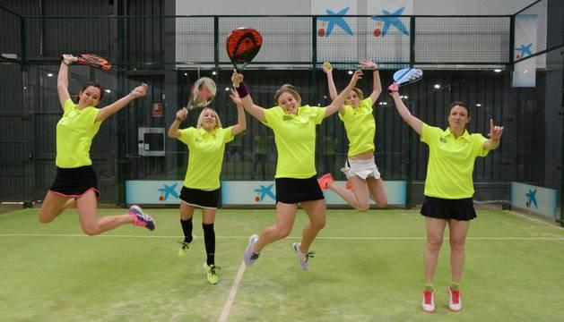 Nordex femenino consiguió los puntos necesarios para ganar el global de la competición de pádel