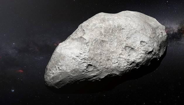 Imagen de un asteroide exiliado