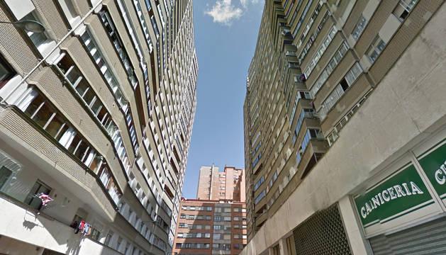 Calle Olite de Bilbao, donde sucedieron los hechos.