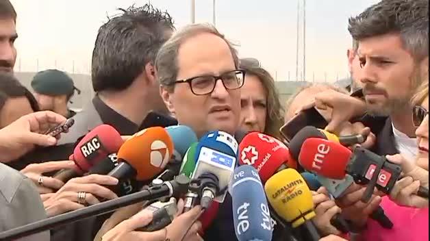 "Torra: ""Cataluña está esperando a sus políticos honorables"""