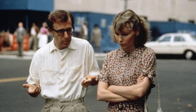 Woody Allen, en una escena de 'Hannah y sus hermanas'