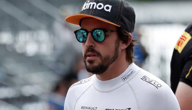 Fernando Alonso, en Montecarlo.