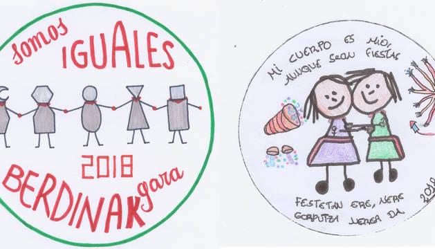Daniel Fernández y Kelvin Ruiz, mejores eslóganes por la igualdad y buenos tratos