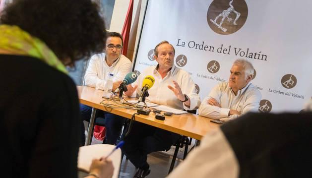 Eugenio Miramón, Remírez de Ganuza y Julián López, del Volatín.