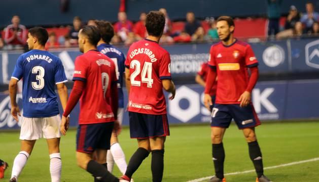 Fotos del Osasuna - Lorca del partido disputado en El Sadar.
