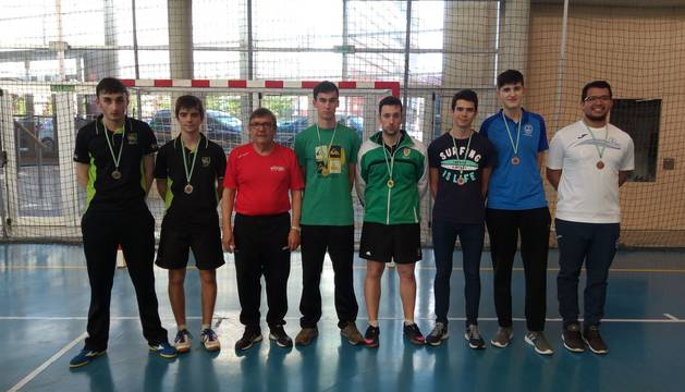 Campeones de los dobles masculinos.