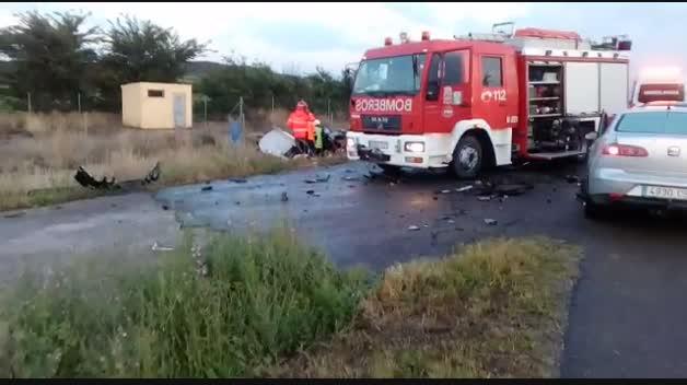 Accidente mortal en Tudela