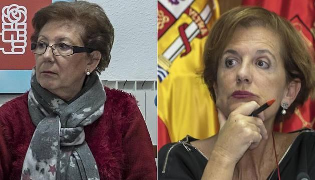 María José Fernández y Begoña Ganuza