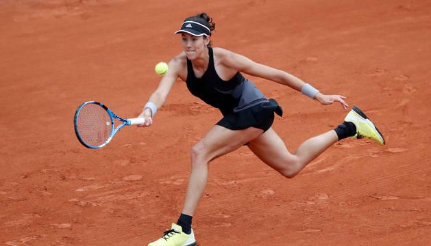 Muguruza en Roland Garros
