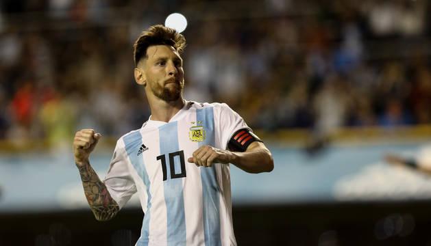 Messi con Argentina