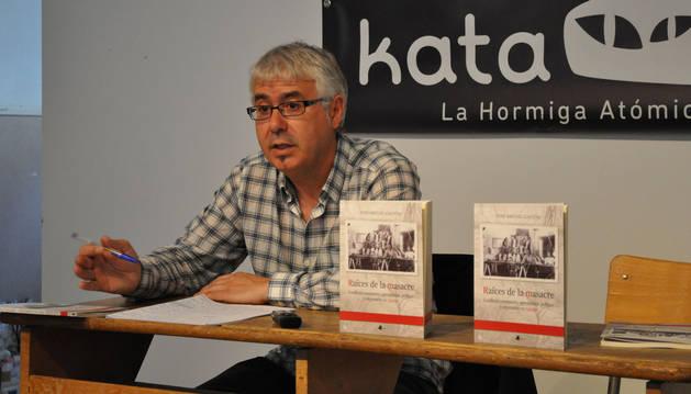 foto de José Miguel Gastón Aguas, nuevo director del Instituto Navarro de la Memoria.