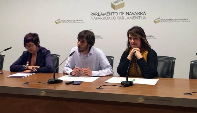 Aznárez, Buil y Sáez critican un