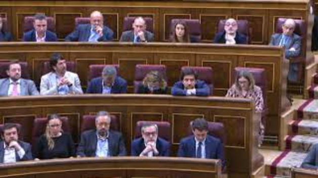 El PNV anuncia en el Congreso que apoyará la moción de censura