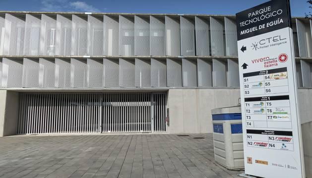 Parque tecnológico Miguel Eguía de Estella, en el que se ubica el vivero de empresas.